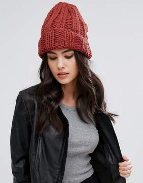 Free People Knitted Beanie Hat