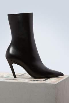 Balenciaga Slash boots with heels