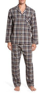 Majestic International Men's Bryson Plaid Pajama Set