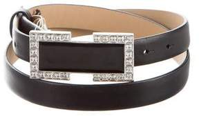 St. John Embellished Buckle Belt