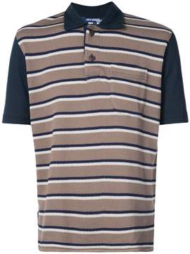 Junya Watanabe striped polo shirt