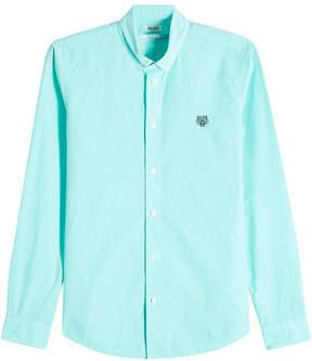 Kenzo Embroidered Cotton Shirt