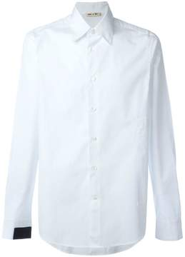 Marni patch pocket shirt