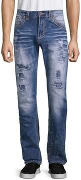 Affliction Men's Gage Fallen Distressed Jeans