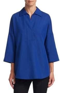 Akris Punto Cotton Kimono Blouse