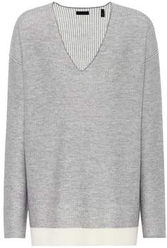 ATM Anthony Thomas Melillo Wool V-neckline sweater