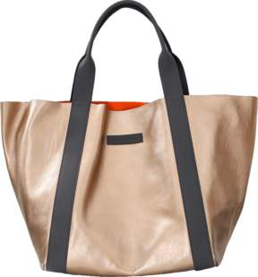 BRUNELLO CUCINELLI Reversible Leather Suede Handbag