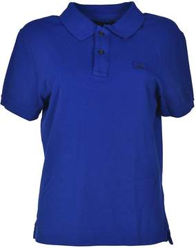 C.P. Company Logo Embroidered Polo Shirt