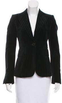 CNC Costume National Velvet Peak-Lapel Blazer