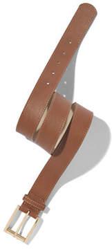 New York & Co. Pebblegrain Faux-Leather Belt