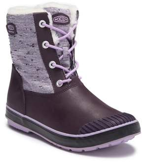 Keen Elsa Waterproof Faux Fur Lined Snow Boot (Big Kid)