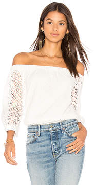 Central Park West Bristol Off Shoulder Top