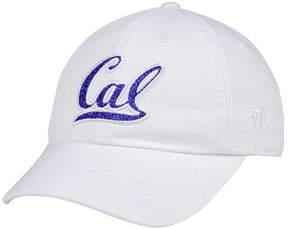 Top of the World Women's California Golden Bears White Glimmer Cap