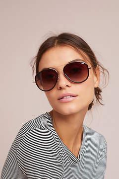 Anthropologie Amber Aviator Sunglasses