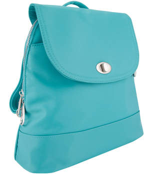 Travelon Turquoise Anti-Theft Tailored Backpack
