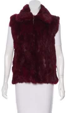 Alexander McQueen Dual-Tone Leather Shoulder Bag