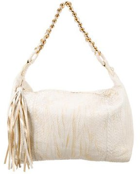Carlos Falchi Medium Snakeskin Hobo