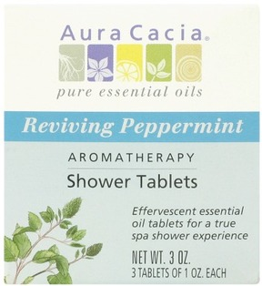 Aura Cacia Shower Tablets Reviving Peppermint
