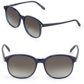Saint Laurent 56MM Round Sunglasses