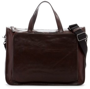 Frye Stanton Work Leather Briefcase