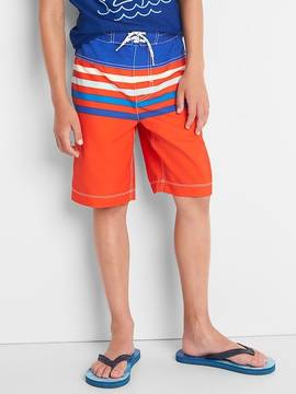Gap Stripe colorblock board shorts