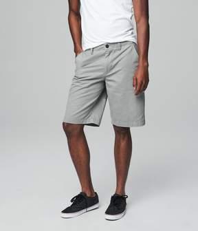 Aeropostale Longboard Stretch Flat-Front Shorts