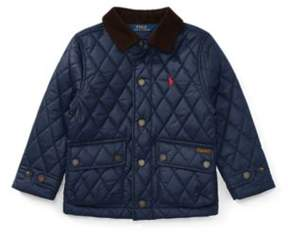Ralph Lauren Quilted Barn Jacket French Navy 2T