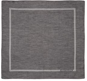 John Varvatos Collection Men's Signature Cotton Pocket Square