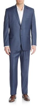 Lauren Ralph Lauren Regular-Fit Solid Wool Suit