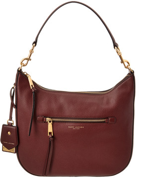 Marc Jacobs Recruit Leather Hobo - ONE COLOR - STYLE