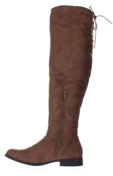 XOXO Womens Trishh2 Closed Toe Knee High Fashion Boots.