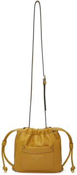Marc Jacobs Yellow Drawstring Crossbody Bag