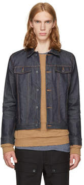A.P.C. Navy Denim Brandy Jacket