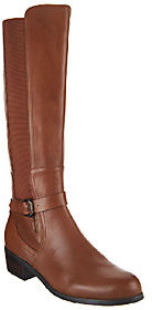Corso Como Tall Shaft Leather & Stretch Boots - Baylee