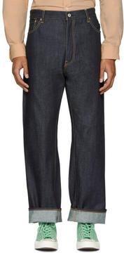 Junya Watanabe Indigo Levis Edition Selvedge Denim Jeans