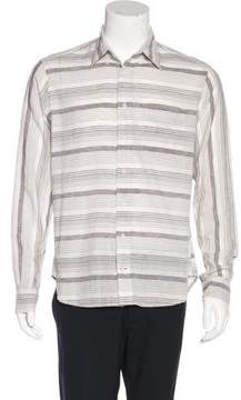 Gitman Brothers Striped Button-Up Shirt