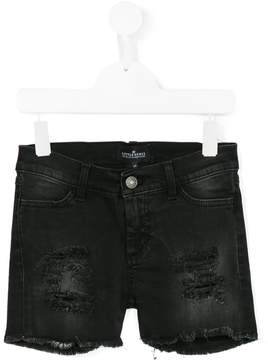 Little Remix denim shorts