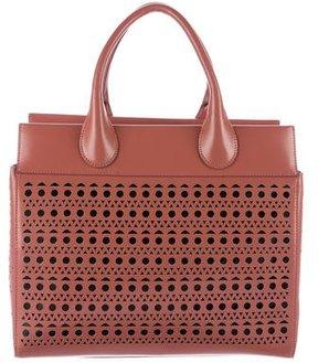 Alaïa Laser Cut Handle Bag