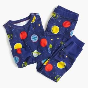 J.Crew Kids' pajama set in planet print