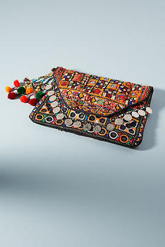 Shashi Kamila Envelope Clutch