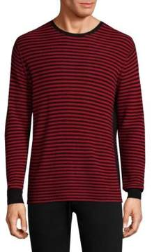 Ovadia & Sons Striped Wool Sweater