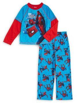 AME Sleepwear Little Boy's and Boy's Two-Piece Spiderman Pajama Set