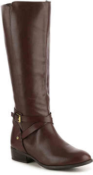 Lauren Ralph Lauren Women's Mariah Wide Calf Riding Boot