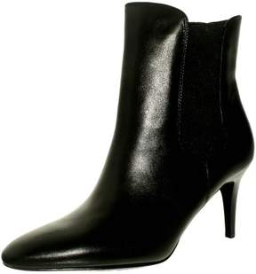 Lauren Ralph Lauren Lauren Ralph Women's Pashia-Bo-Drs Leather Black Ankle-High Boot - 8M
