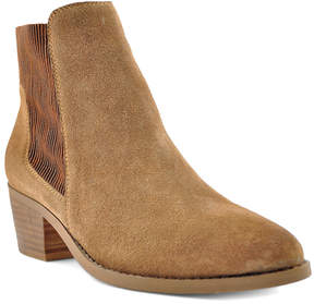 Very Volatile Camel Suede Ankle Boot