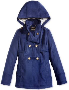 Jessica Simpson Hooded Military Coat, Big Girls (7-16)