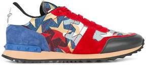 Valentino star panel sneakers