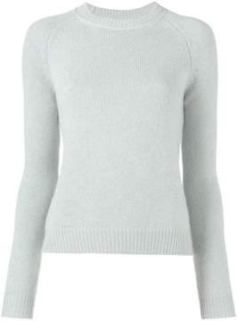 Mila Louise Alexandra Golovanoff Blue cashmere jumper