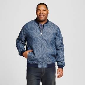 Merona Men's Big & Tall Floral Print Bomber Jacket