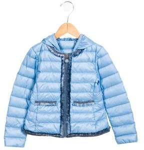 Moncler Girls' Kamaria Puffer Jacket